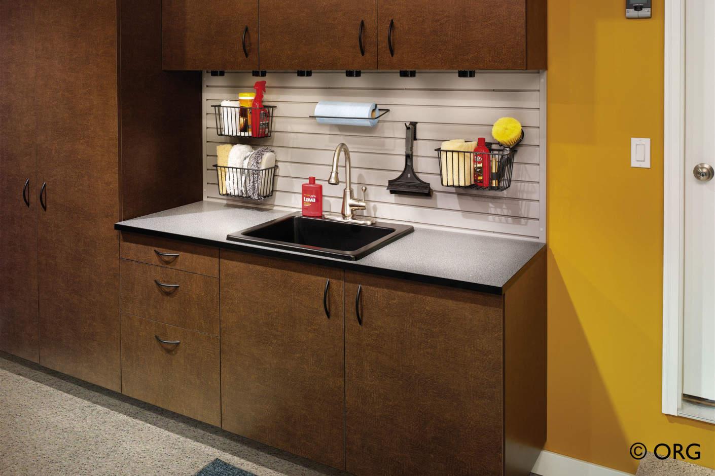 High End Office Furniture >> Atlanta Garage Cabinets | Garage Storage | SpaceMakers
