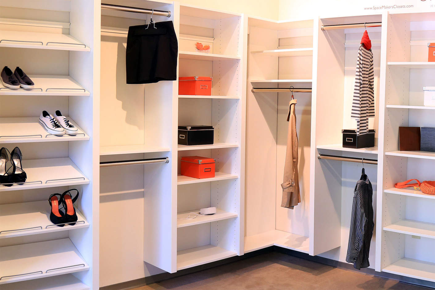 Excellent Atlanta Custom Closets Spacemakers Custom Closets With How To  Build Your Own Closet System.