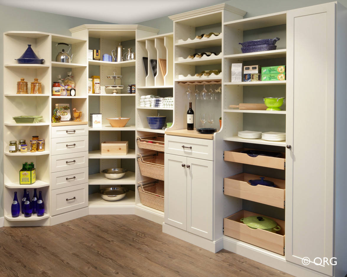 Atlanta pantry storage solutions spacemakers custom closets Kitchen cabinet organization systems