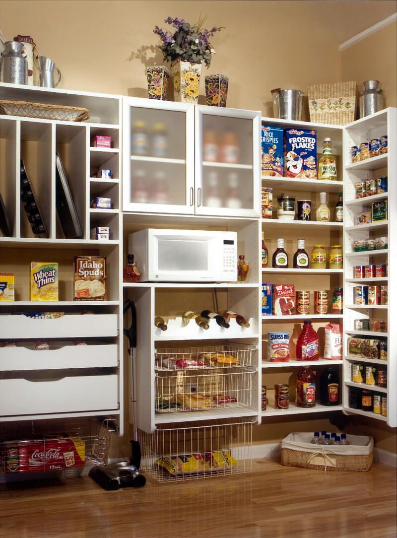 Laundry Room Shelving: Atlanta Pantry Storage Solutions