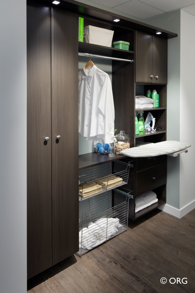 Custom Laundry Room Shelving